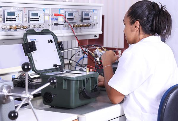 <b>Laboratório de Calibração de Pressão</b>