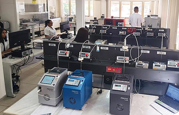 <b>Laboratório de Calibração de Temperatura</b>